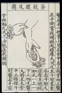 C20_Chinese_medical_illustration_in_trad._style;_Hand_massage_Wellcome_L0039658